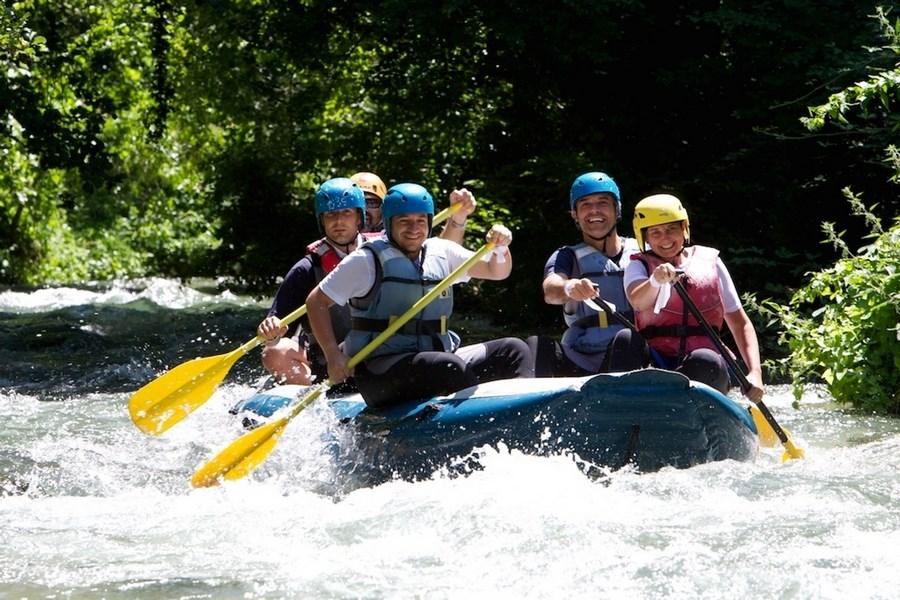 Discese rafting in Umbria